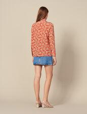 Printed silk shirt : FBlackFriday-FR-FSelection-30 color Red