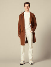 Double-sided wool parka : LastChance-IT-H40 color Camel