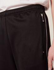 Track Pant Style Jogging Bottoms : Sélection Last Chance color Black