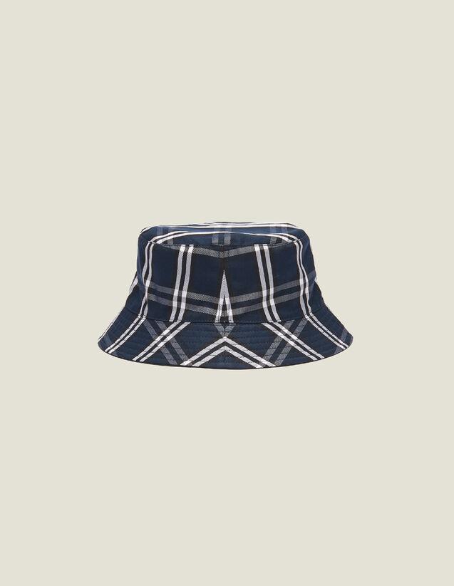 Reversible Technical Fabric Hat : Sélection Last Chance color Navy Blue