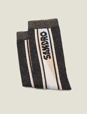 Lurex Socks : Socks color Black