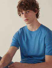 Short-Sleeved Merino Wool Sweater : All Selection color Black