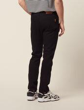 Narrow Cotton Canvas Jeans : Sélection Last Chance color Black