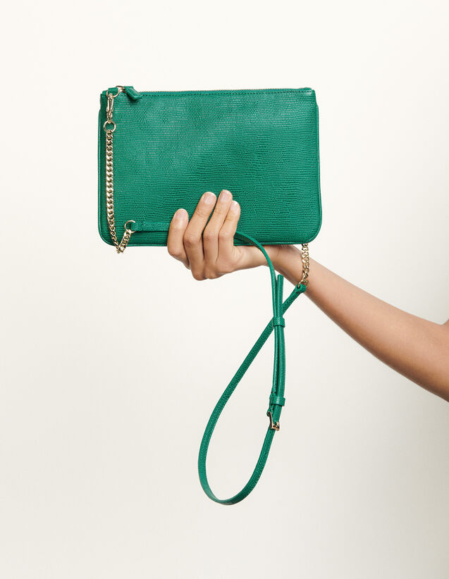Addict clutch : All Bags color Green