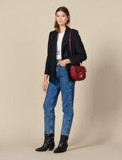 Pépita Bag, Medium Model : All Winter collection color Brick-Red
