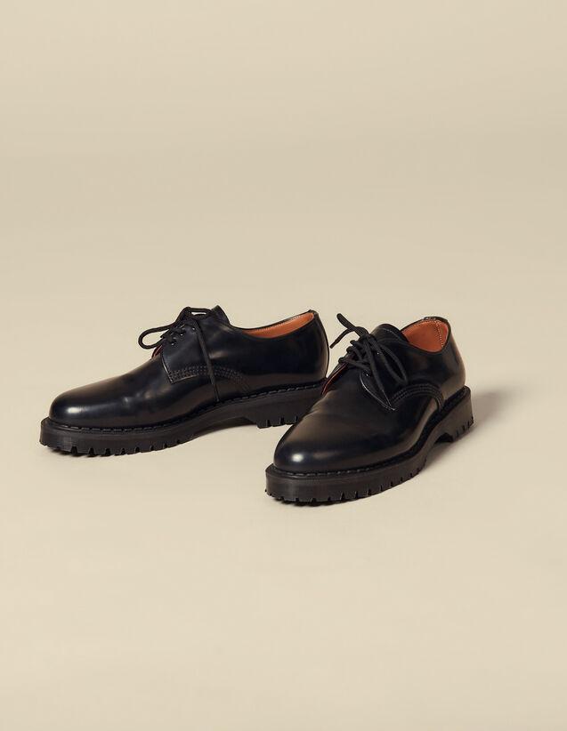 Derby shoe with studs : Shoes color Black