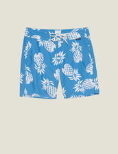 Printed Swim Shorts : All Selection color Black