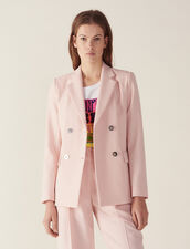 Matching Tailored Jacket : Blazers & Jackets color Pink