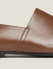Leather Slippers : Sélection Last Chance color Brown