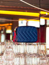Bag Liza : null color MARINE/NOIR