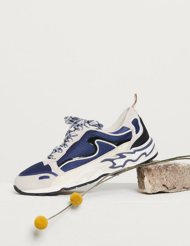 Flame trainers : All Shoes color Deep Navy