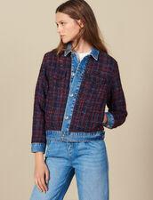 Tweed jacket : Blazers & Jackets color Bordeaux