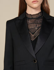 Cropped Blazer : LastChance-ES-F50 color Black