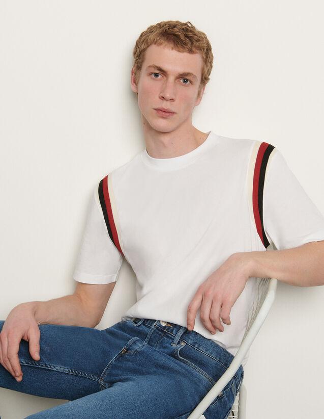 Organic cotton T-shirt : T-shirts & Polo shirts color Navy Blue