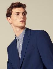 Classic super 110 suit jacket : Winter Collection color Petrol