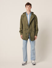 Faded Cotton Parka : All Selection color Olive Green