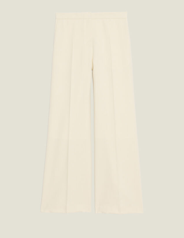 Tailored Trousers : All Selection color Ecru