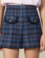 Tweed Shorts : Skirts & Shorts color Multi-Color
