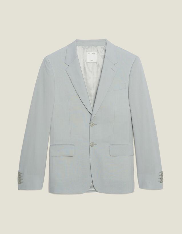 Wool Suit Jacket : Sélection Last Chance color Putty