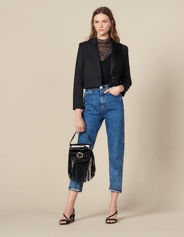 Cropped Blazer : Copy of VP-FR-FSelection-Blousons&Manteaux color Black