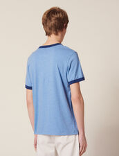 Slogan T-Shirt : All Selection color Sky Blue