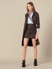 Trompe l'œil effect dress : FBlackFriday-FR-FSelection-30 color Blue sky