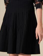 Flared Knit Skirt : FBlackFriday-FR-FSelection-30 color Black