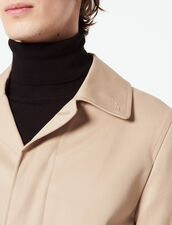 Cotton Raincoat : Sélection Last Chance color Beige