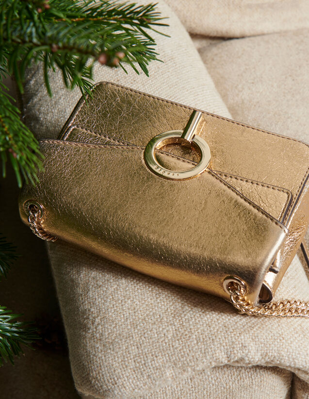 Full gold Yza bag, small model : All Bags color Full Gold