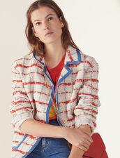 Tweed Blazer Jacket : Blazers & Jackets color Multi-Color