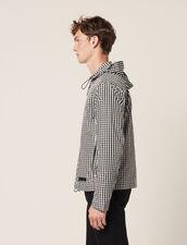 Gingham Jacket : All Selection color Black