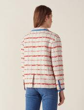 Tweed Blazer Jacket : null color Multi-Color
