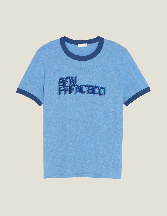 Slogan T-Shirt : All Selection color Sky Blue