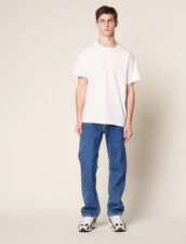 Cotton Oversized T-Shirt : All Selection color white