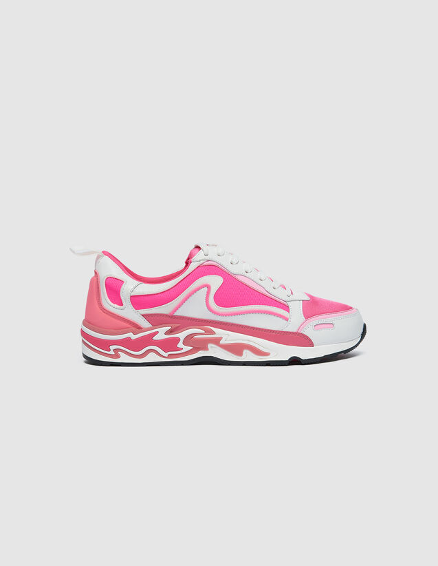 Flame Trainers : -20% color Pink
