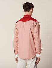Colourblock Western-Style Shirt : Sélection Last Chance color Light pink