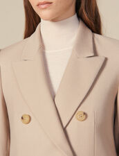 Double-Breasted Wool Coat : Copy of VP-FR-FSelection-PAP&ACCESS color Beige