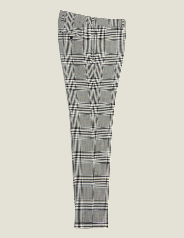 Classic Suit Trousers : Suits & Tuxedos color Grey