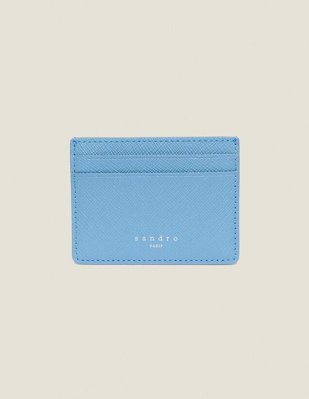 Leather Card Holder : Summer Collection color Orange