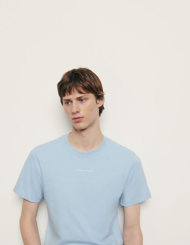 Organic cotton T-shirt : All Winter collection color Orange
