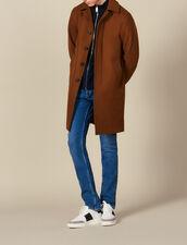 Oversized town coat : LastChance-IT-H40 color Camel