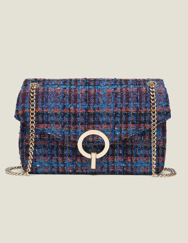 Yza tweed bag : All Winter collection color Multi-Color