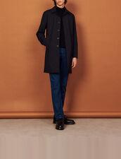 Town coat : Trench coats & Coats color Navy Blue