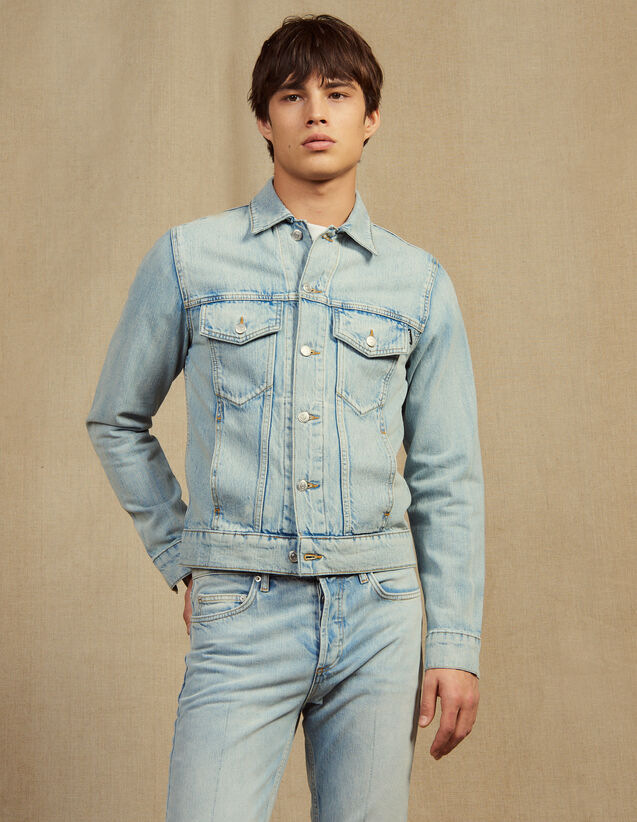 Denim Jacket : All Selection color Stone Washed