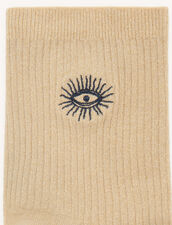 Lurex socks : Socks color Gold