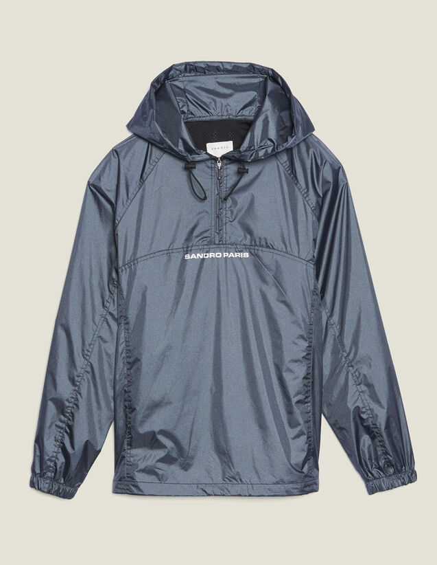 Hooded Windbreaker : Sélection Last Chance color Grey