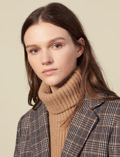 Wool Snood : All Winter collection color Camel