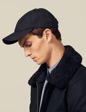 Wool Blend Cap : LastChance-IT-H30 color Navy Blue