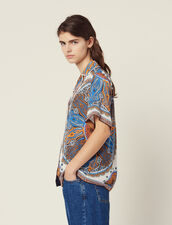 Printed Pyjama Shirt : null color Multi-Color