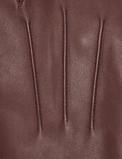 Leather gloves : Gloves & Hats color Black